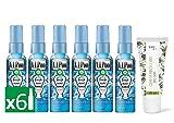 Air Wick VIPoo Spray per il fresco WC 6 unità 330 ml + Alkimist Professional crema mani e unghie 75 ml