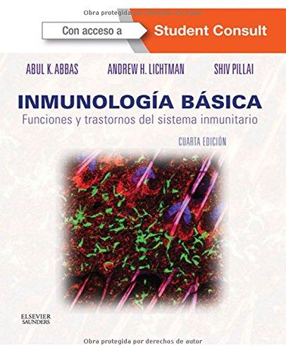 Portada del libro Inmunología Básica - 2ª Edición (+ StudentConsult)