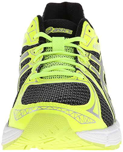 Asics Gel-Exalt 2 Liteshow Synthétique Chaussure de Course Black/Silver/Flash Yellow