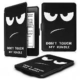 Fintie Kindle Paperwhite Custodia - Case Cover Custodia Ultra Sottile per Amazon Nuovo Kindle Paperwhite (Adatto Tutte le versioni: 2012, 2013, 2014 e 2015 Nuovo 300 ppi), Dont Touch immagine