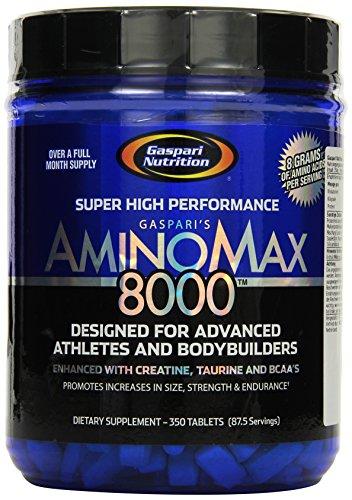Gaspari Nutrition Aminomaxx 350Tabs, 1er Pack (1 x 770 g)