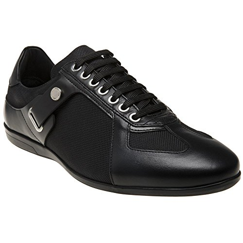 Versace Collection Logo Formal Herren Sneaker Schwarz