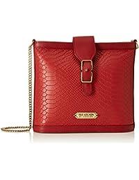 Isle Locada by Hidesign Women's Sling Bag (Red)