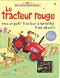 Le tracteur rouge