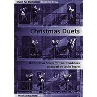 Christmas Duets for Trombone/Duette per Trombone (musica di Natale per ottoni)