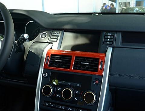 Centre Control Air Conditioning Vent de sortie d'aération Cadre Coque Trim Stickers Accessoires