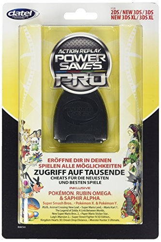 Schummelmodul Action Replay Powersaves für 3DS und 3DS XL