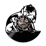 Best Conception avec Vinyl cadeaux pour les familles - WALIZIWEI 1 pièce Mur Ombre Silhouette Ours Animal Review