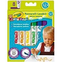 Crayola Mini Kids - Loisirs Créatifs - 8 feutres lavables - dès 1 an