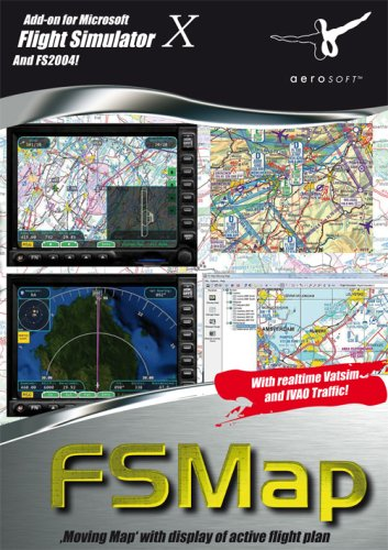 Aerosoft FS Map Add-On for FS 2004/FSX [UK Import]