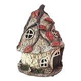 Solar Powered Garden Fairy House of Maisy Dawnstorm 25cm
