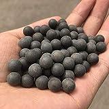 100pcs 10mm Sling Perlen Bearing Schlamm Bälle Sicherheit Ungiftiger Schleuder Munition Massiv Lehm-Kugeln für Outdoor-Jagd-Schießen