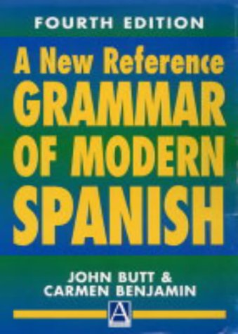 A New Reference Grammar of Modern Spanish, 4th edition (HRG)