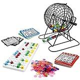 Royal Bingo Supplies Jumbo Bingo Spiel mit 100Bingo Karten, 500Bingo Chips und 22,9cm Drum