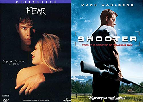 Pound For Pound The Best Mark Wahlberg Content Available: Fear & Shooter Film Favorites DVD Movie Bundle