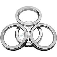 4 x Zentrierringe 64.0 auf 54.1 silber silver