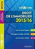 Top Actuel Droit De L'Immobilier (Top' Actuel) - Format Kindle - 9782012709300 - 3,99 €