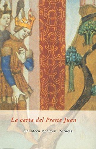 La carta del Preste Juan (Biblioteca Medieval)