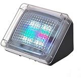 HAMSWAN Sicherheitsbeleuchtung LED Simulator Fernseh Attrappe Fake Television Einbruchschutz Home Security 20 Farbige LEDS mit Lichtsensor Automatisch Funktionieren