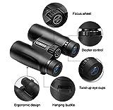 ENKEEO 10X42 Fernglas Kompakt Binoculars für Vogel-/ Tier-Betrachtung, Kampieren, Sport-Ereignisse, Konzerte, Jagd, Überwachung Test