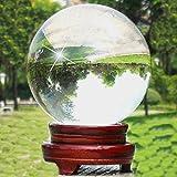 Rayinblue Superbe NEUF asiatique à quartz clair Boule de cristal Sphère 100mm + Support Nice Cadeau UK
