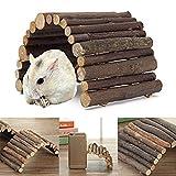 Pont en Bois Jouets pour Rat Hamster