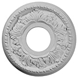 Ekena millwork 117/8-inch Od X 35/8-inch ID x 7/8-inch Helene techo Medallion