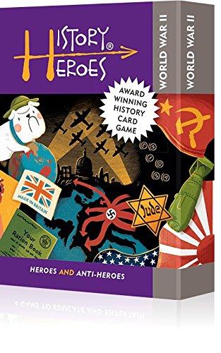 History Heroes: WORLD WAR TWO Card Game (Wars-karte-spiel Card)