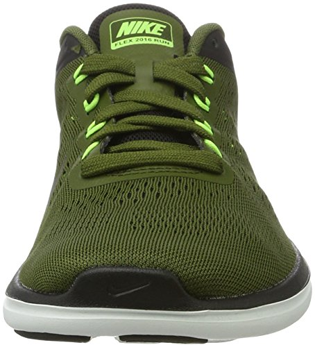 Nike Flex 2016 Rn, chaussures de course homme Vert (Legion Green/mtlc Pewter/black/ghost Green/off White)