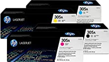 HP Original Cartridge Toner Set x 4 / CE410A CE411A CE412A CE413A