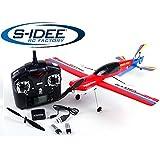 s-idee® 01655 Flugzeug F939 Racing Flight ferngesteuert mit 2.4 Ghz Technik mit Lipo Akku