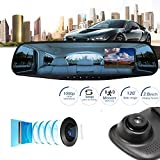 Dashcam Autokamera Volle HD 1080P Auto DVR CCTV Dash Kamera G-Sensor Fahrzeug Video Cam Recorder Dash Cam Camera Bewegungserkennung | WDR | Auto DVR Camcorde | Parkmonitor | Loop-Aufnahme | Nachtsicht