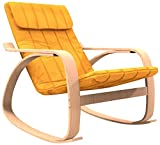 Best Rocking Chairs - Forzza Elly Kid's Rocking Chair (Matt Finish, Yellow) Review