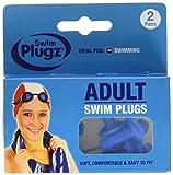 Swim Plugz 3922 - Tappi per le orecchie da piscina per adulto, confezione da 2 pezzi