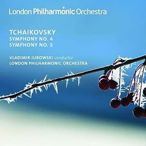 Tchaïkovsky : Symphonies n°4 & n°5