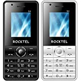 Rocktel Bar Phone Combo With Selfie Feature-S4 - Black + White