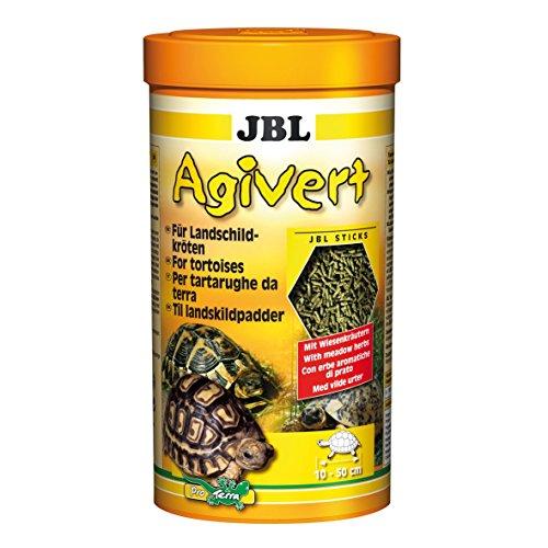JBL Sticks Agivert 70333 Hauptfutter für Landschildkröten von 10-50 cm, 1er Pack (1 x 1 l)