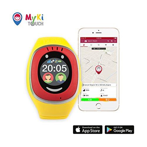 MyKi GPS Uhr Kinder, Smartwatch mit GPS Tracker, Handy Ortung, SOS und App Tracking in Deutsch