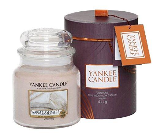 Yankee Candle Fall in Love, Glaskerzen-Geschenkset, mittel, violett