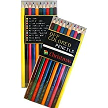 Off Colored Pencils - CHRISTMAS - Funky