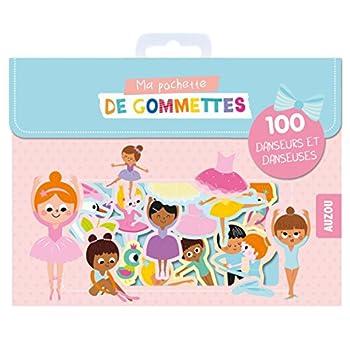 Ma pochette de gommettes - 100 danseuses et danseurs