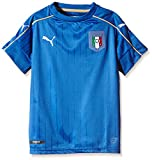 PUMA Kinder Trikot FIGC Italia Home Shirt Replica, team power blue-white, 128, 748833 01