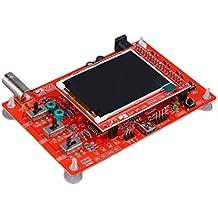 Rojo DSO138 Soldado tamaño de bolsillo del kit del osciloscopio digital piezas de bricolaje electrónico (Color: rojo)
