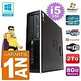 HP PC Compaq 8100 SFF i5-650 RAM 8gb Scheibe 2To DVD-Brenner WiFi W7