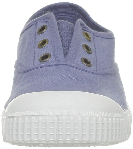 Victoria Inglesa Lona Tenida Punt, Baskets mode mixte enfant Bleu (36 Azul)