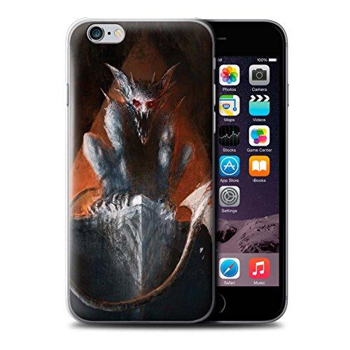 Offiziell Chris Cold Hülle / Case für Apple iPhone 6 / Teufel/Tier Muster / Wilden Kreaturen Kollektion Vampirfledermaus