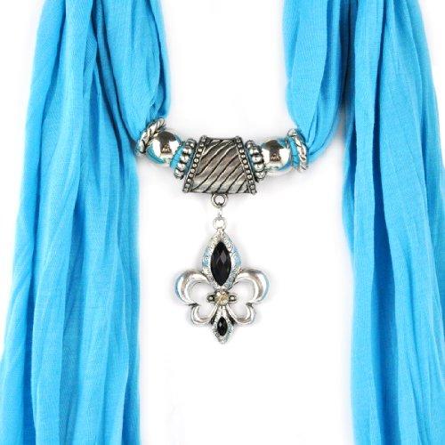 12couleurs bijoux écharpes écharpe pendentif strass châle peut, gros nl-1791 G 160*40cm K