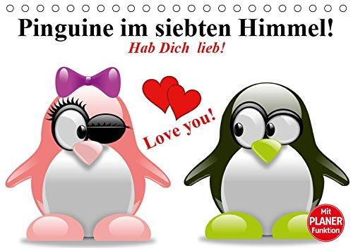 Pinguine im siebten Himmel! (Tischkalender 2019 DIN A5 quer)
