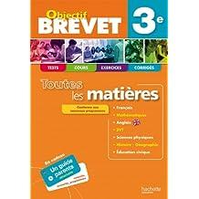 OBJECTIF BREVET - Toutes les matières 3e