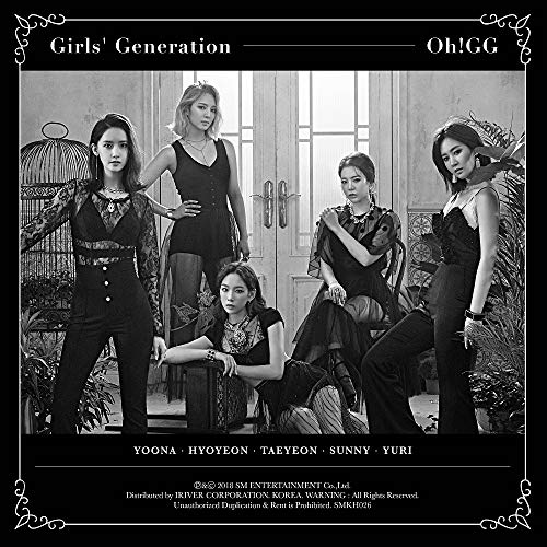 SM Entertainment SNSD Girls' Generation-Oh!GG - Lil' Touch (1st Single Album) KIHNO Kit+Photocard+Folded Poster -
